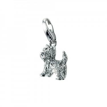 Giorgio Martello Scottie Dog Silver Charm