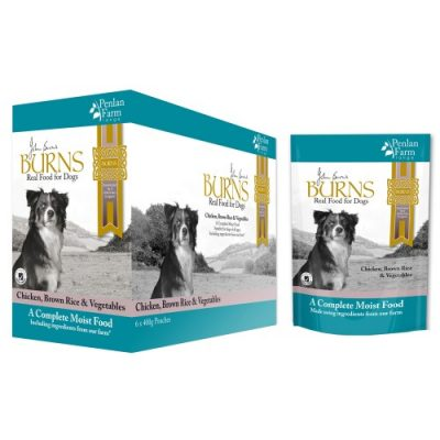 Burns Chicken Pouches for Dogs