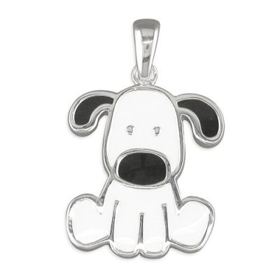 Silver Doggie Necklace