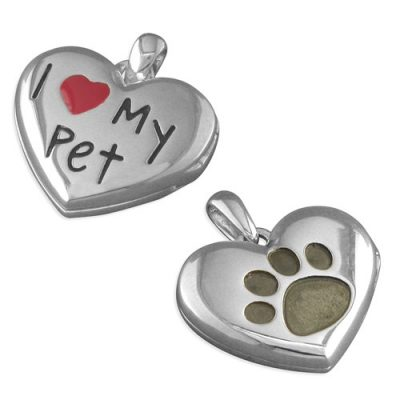 I love my pet silver locket