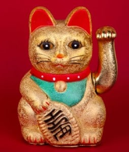 Chinese Lucky Waving Cat