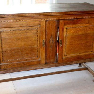 dresser - oak