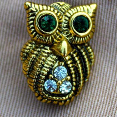 owl - brooch 4