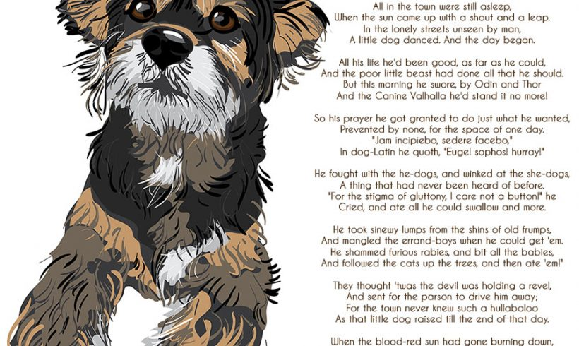 Poem for Sunday – The Little Dogs Day