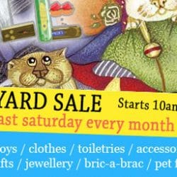 End of month Tabletop Sale Saturday 28th July